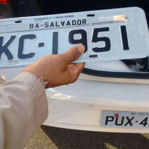 Transalvador recupera veículo roubado neste domingo