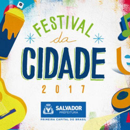 Festival da Cidade começa neste final de semana em Salvador