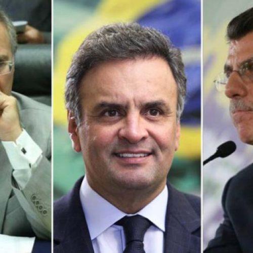 Fachin envia inquéritos contra Aécio, Jucá e Renan para Polícia Federal