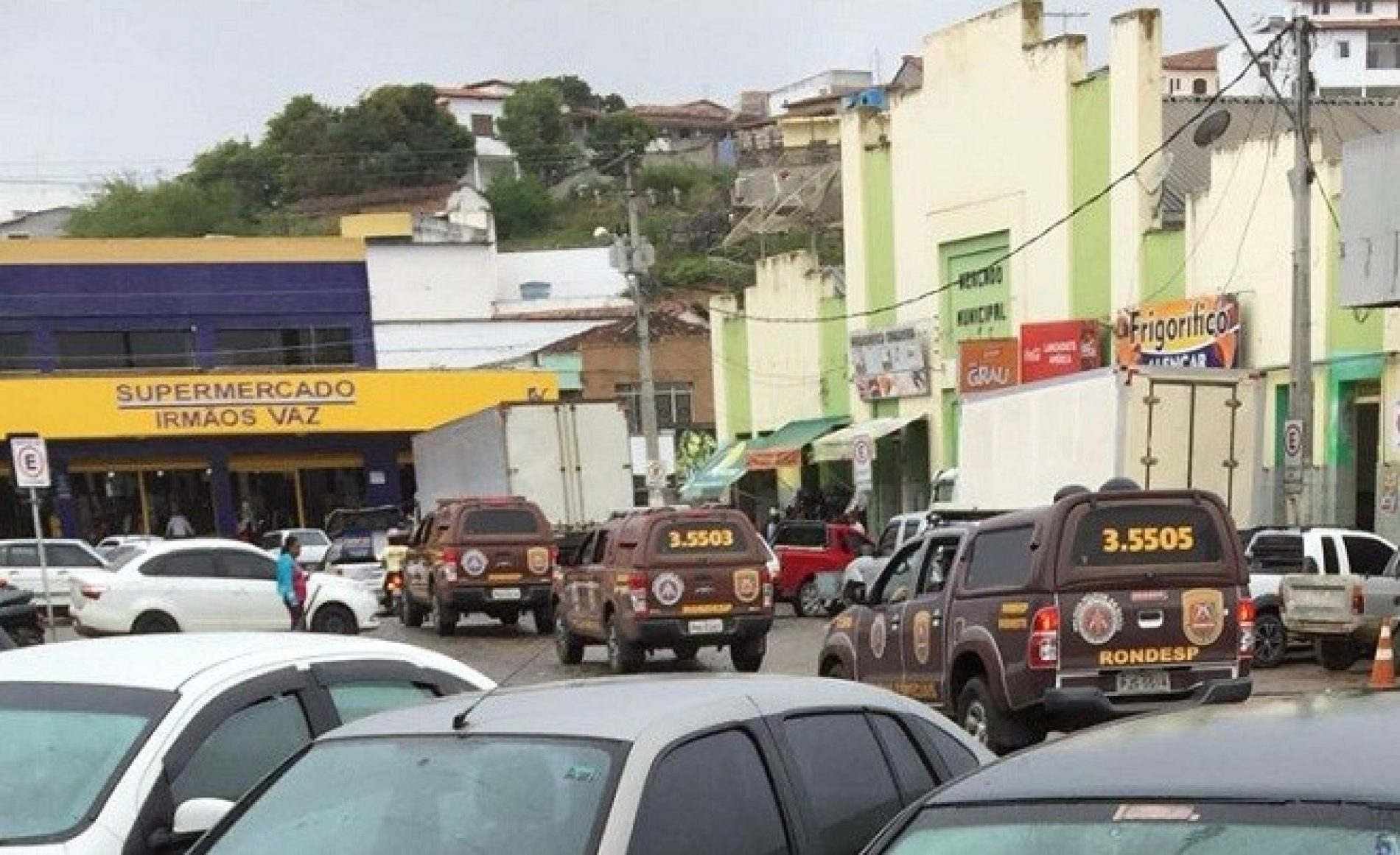Após fuga de presos na região, viaturas da Rondesp fazem rondas em Jaguaquara