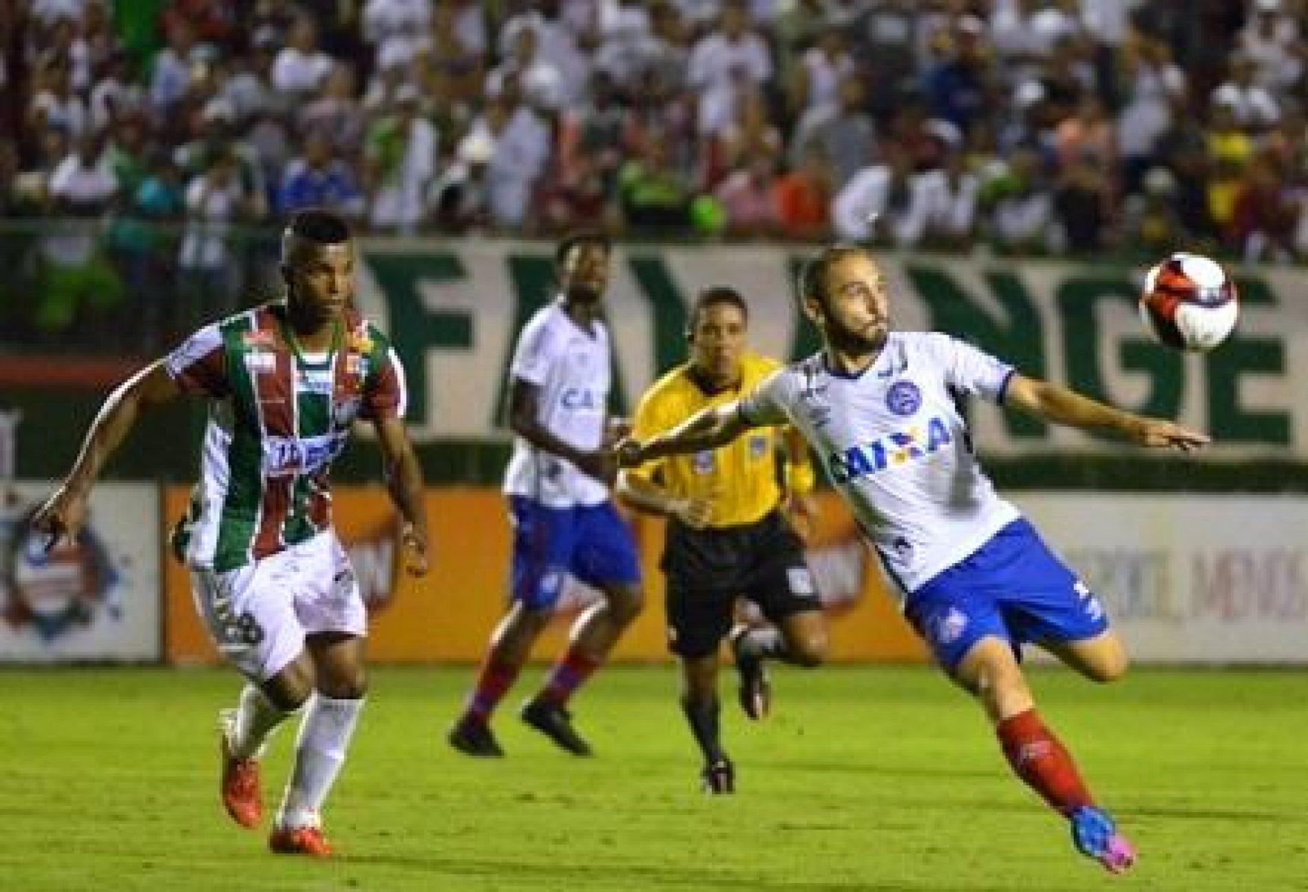 Bahia goleia Fluminense de Feira no Joia da Princesa