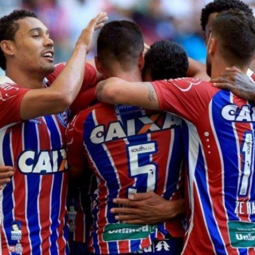 Com gol de Hernane, Bahia vence Flu de Feira de novo e está na final do Campeonato Baiano