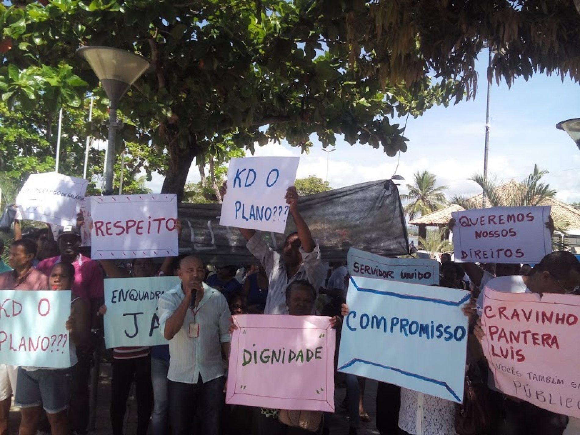 Servidores de São Francisco do Conde podem deflagrar greve nesta terça-feira