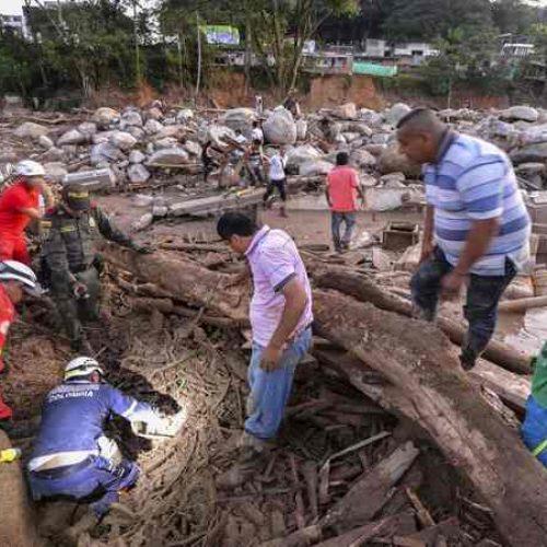 Mais de 200 mortos na Colômbia por deslizamento de terra