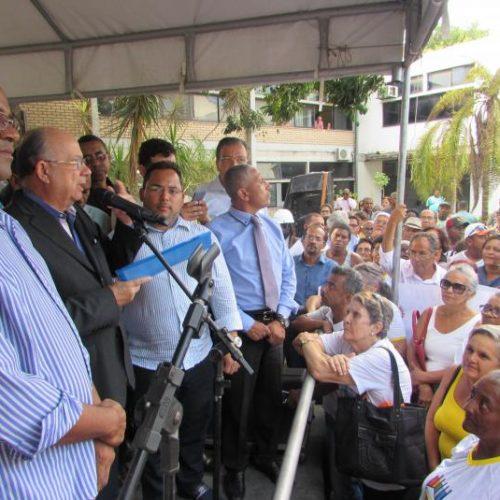 Prefeito anuncia cerca de R$ 40 milhões em pacote de obras em Feira de Santana