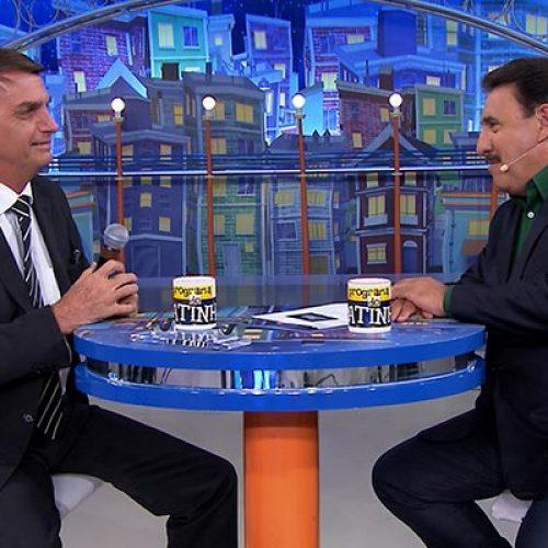 Ratinho diz que Bolsonaro é 'um cara meio louco'