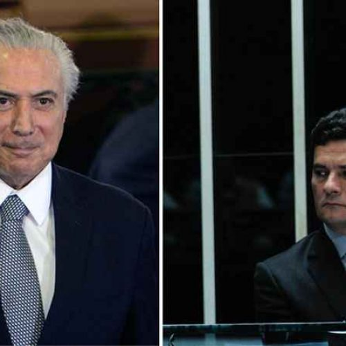 Temer e Sérgio Moro são condecorados pelo Exército