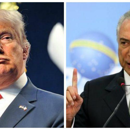 Temer e Trump podem ter encontro ainda este ano, diz embaixador