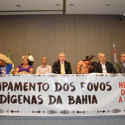 ALBA sedia instalação do 1º Acampamento do Mupoíba no Estado