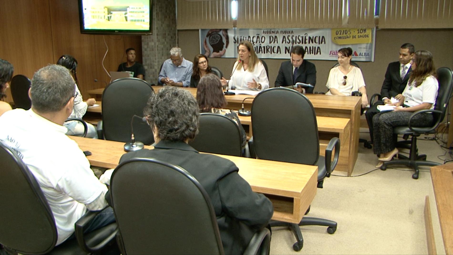 Audiência pública trata sobre situação da assistência psiquiátrica na Bahia