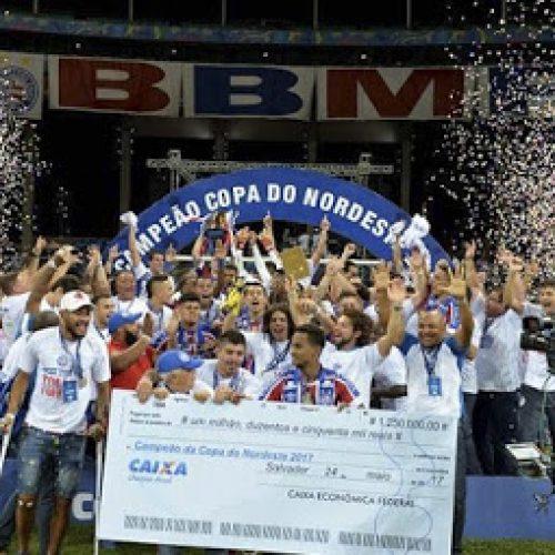 Bahia vence o Sport por 1×0 e conquista o tri do Nordestão