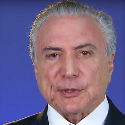 Michel Temer diz que não acompanhou depoimento de Lula a Moro