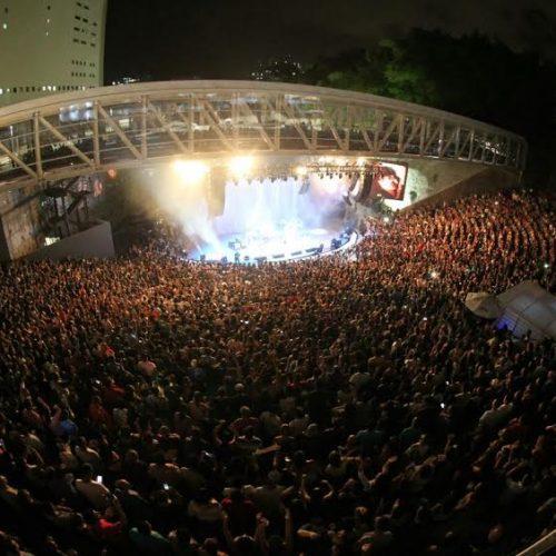Concha Acústica atrai público de 240 mil pessoas no primeiro ano de reabertura