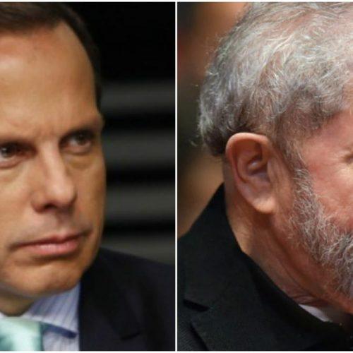 'Serenidade da frieza de um mentiroso', diz Doria sobre Lula