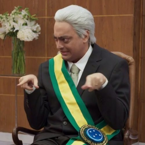 Esquete do Zorra mostra Temer agarrado à cadeira da Presidência