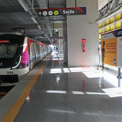 Estações do metrô na Paralela entram em operação nesta terça-feira