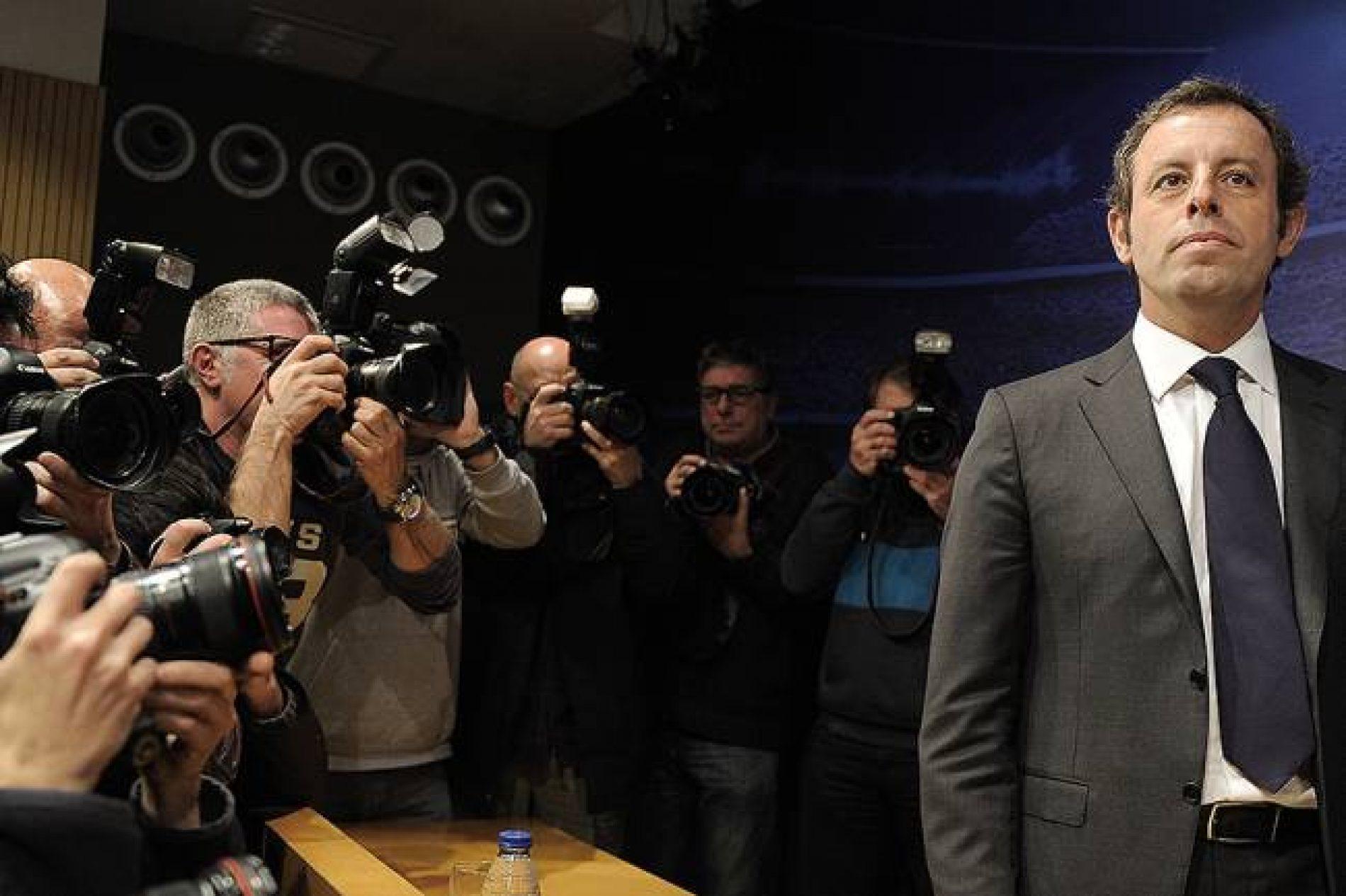 Ex-presidente do Barcelona é preso por contratos com CBF