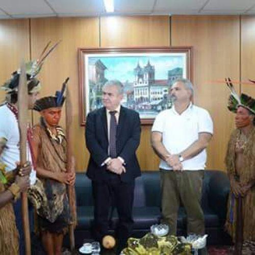 Indígenas vão acampar na ALBA segunda-feira por educação e demarcação de terras