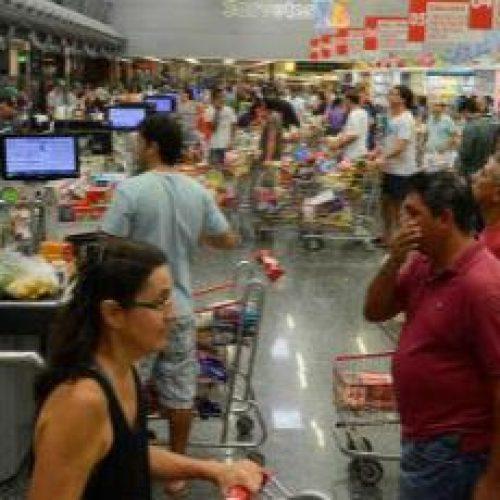 Intenção de Consumo das Famílias aumenta 11,1% na comparação anual