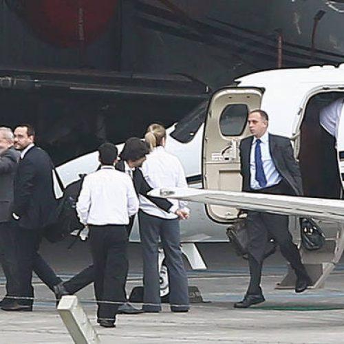 Jatinho usado por Lula na viagem a Curitiba é do ex-ministro Walfrido Mares Guia