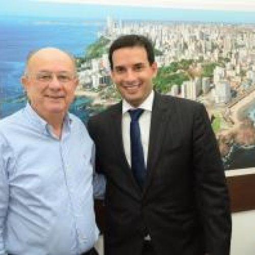 Leo Prates recebe visita do prefeito de Feira de Santana