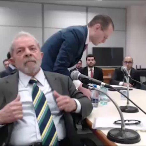 """""""Espero que não seja por esta minha resposta que eu seja condenado"""", diz Lula sobre propina da OAS"""