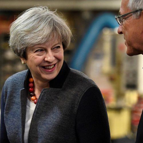 May pedirá dissolução do Parlamento britânico à rainha Elizabeth II