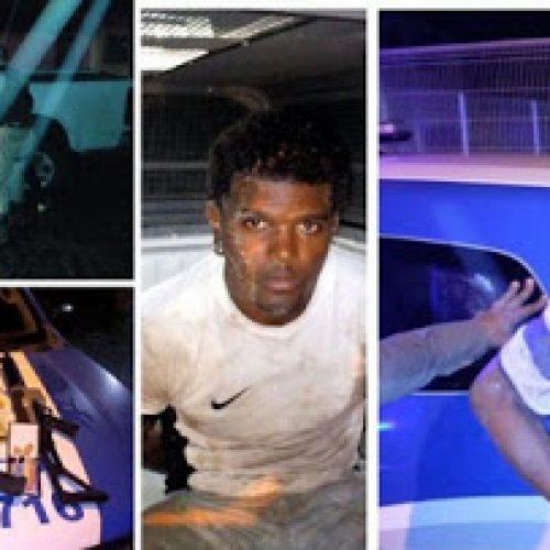 PM prende suspeitos com armamento pesado em Muritiba