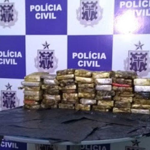 Itabuna: Polícia encontra 55 kg de cocaína transportada em carga de sucata