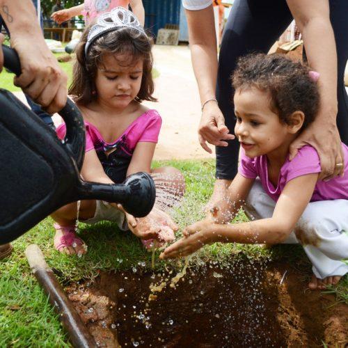 Prefeitura promove plantio de árvores em praça no Itaigara