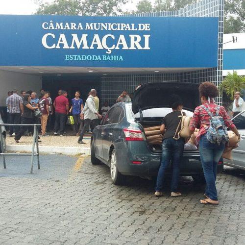 Reintegração de Posse: Câmara de Camaçari é desocupada após duas semanas