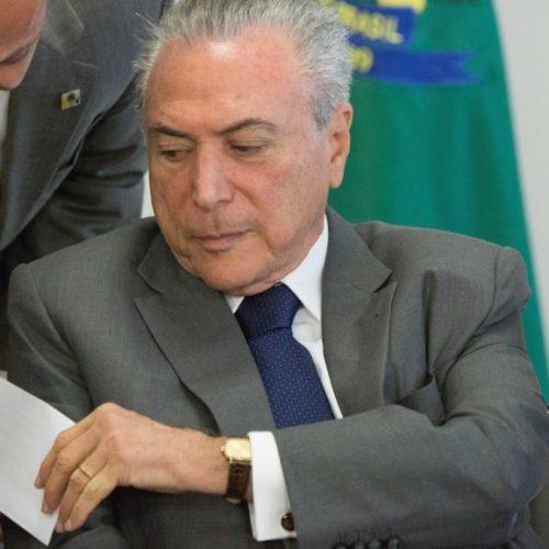 Temer envia carta a Rodrigo Maia e Eunício para explicar decreto