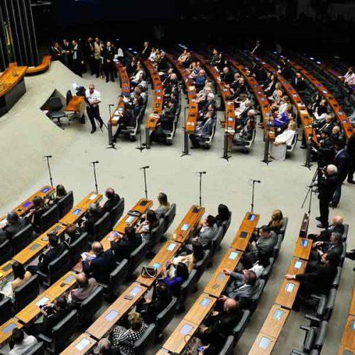 Votos contra a reforma se mantêm em 232 e a favor, em 87, mostra placar