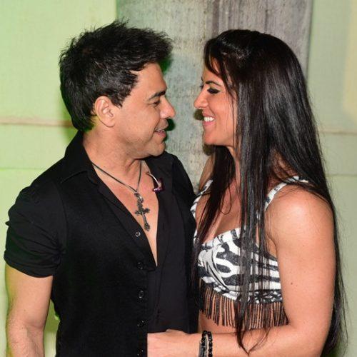 Zezé Di Camargo e Graciele apimentam a relação em clube de swing