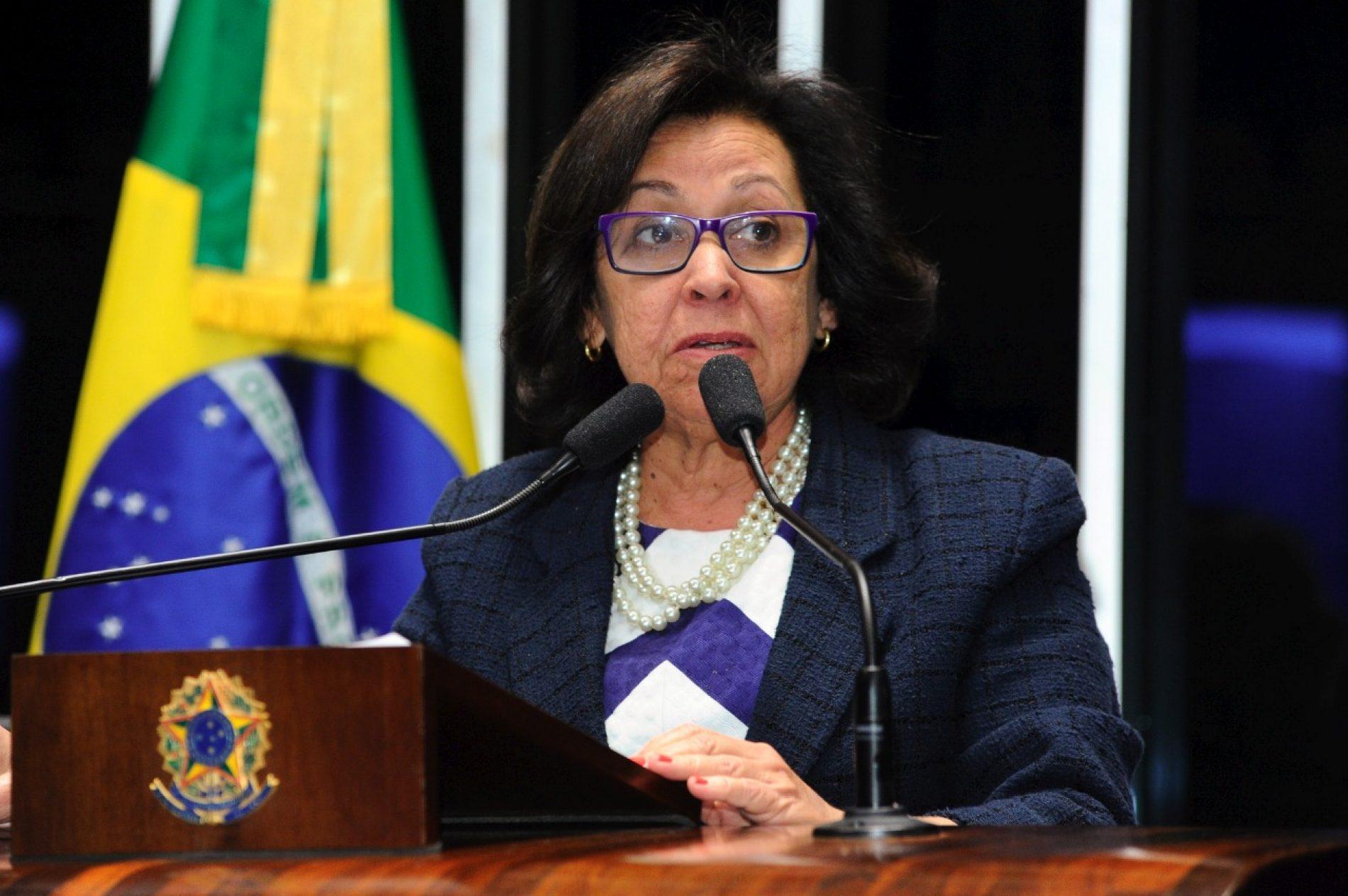 """""""Governo está fazendo mercado livre para aprovar reformas"""", afirma senadora Lídice da Mata"""