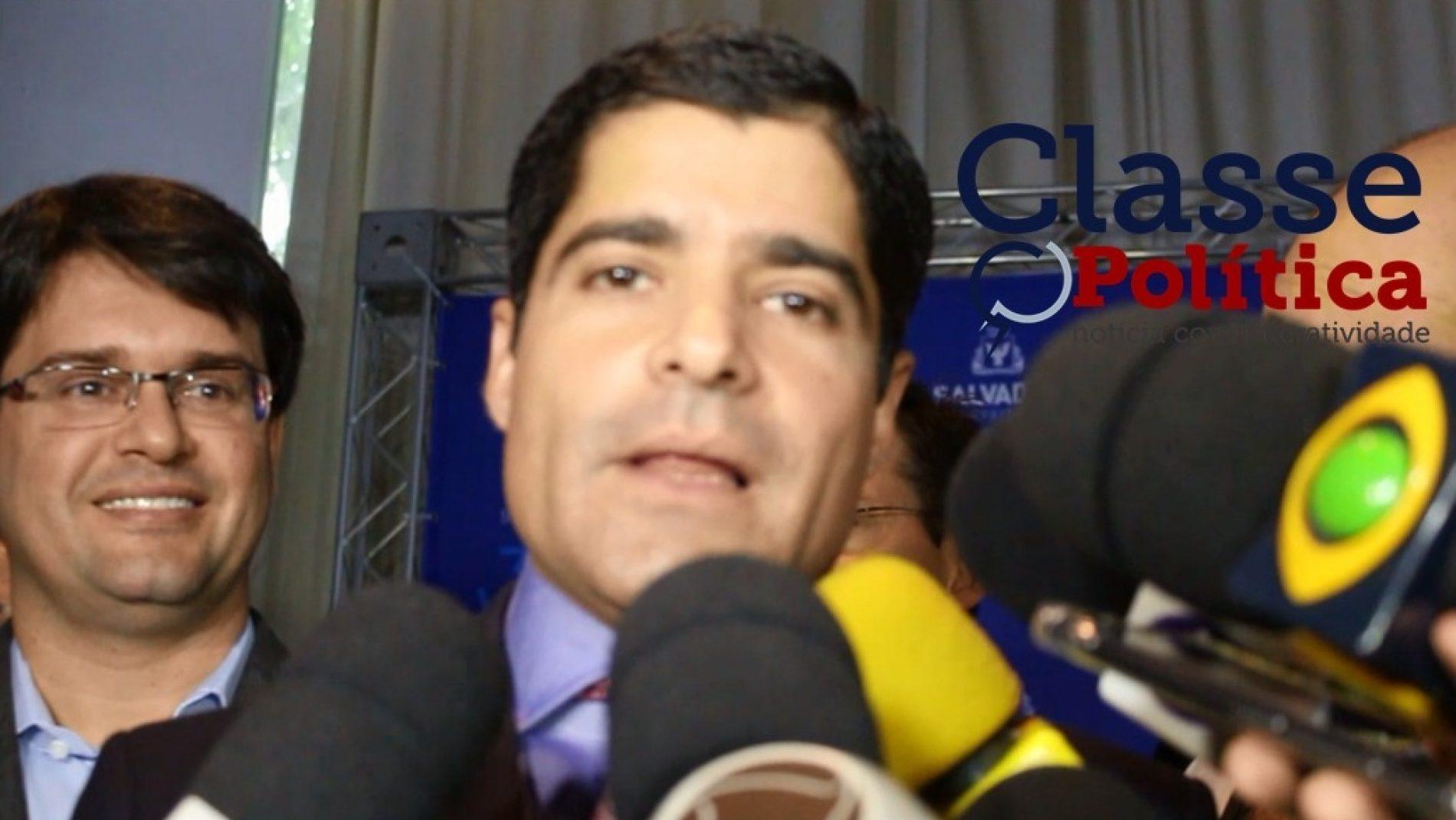 Saída tem que ser feita respeitando a Constituição Federal, diz ACM Neto; assista