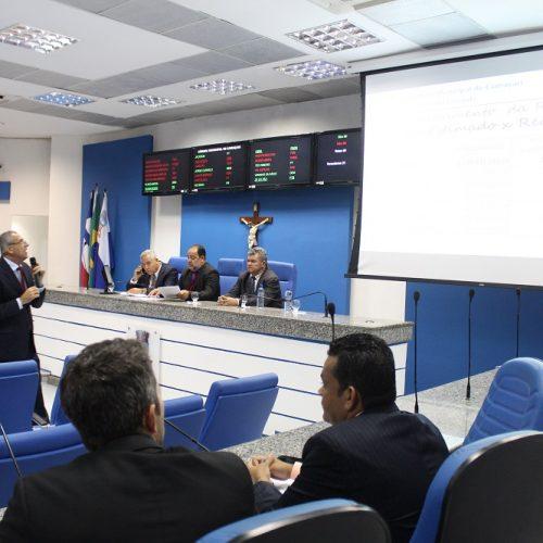 Camaçari: Secretário apresenta prestação de contas do 1º quadrimestre do Executivo