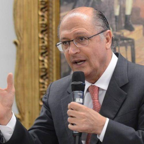 """Lula será condenado nas urnas"", diz Alckmin"