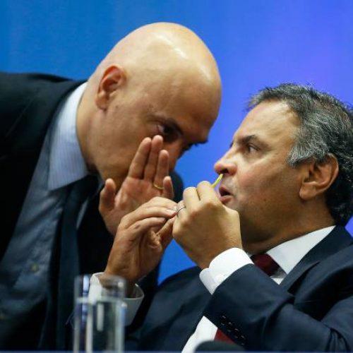 Alexandre de Moraes será novo relator de inquérito contra Aécio