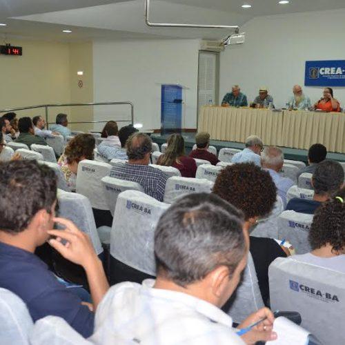 Assistência técnica e extensão rural são debatidas em seminário no CREA-BA