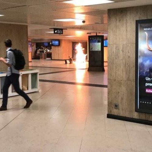 Explosão em estação de Bruxelas 'considerada ataque terrorista'