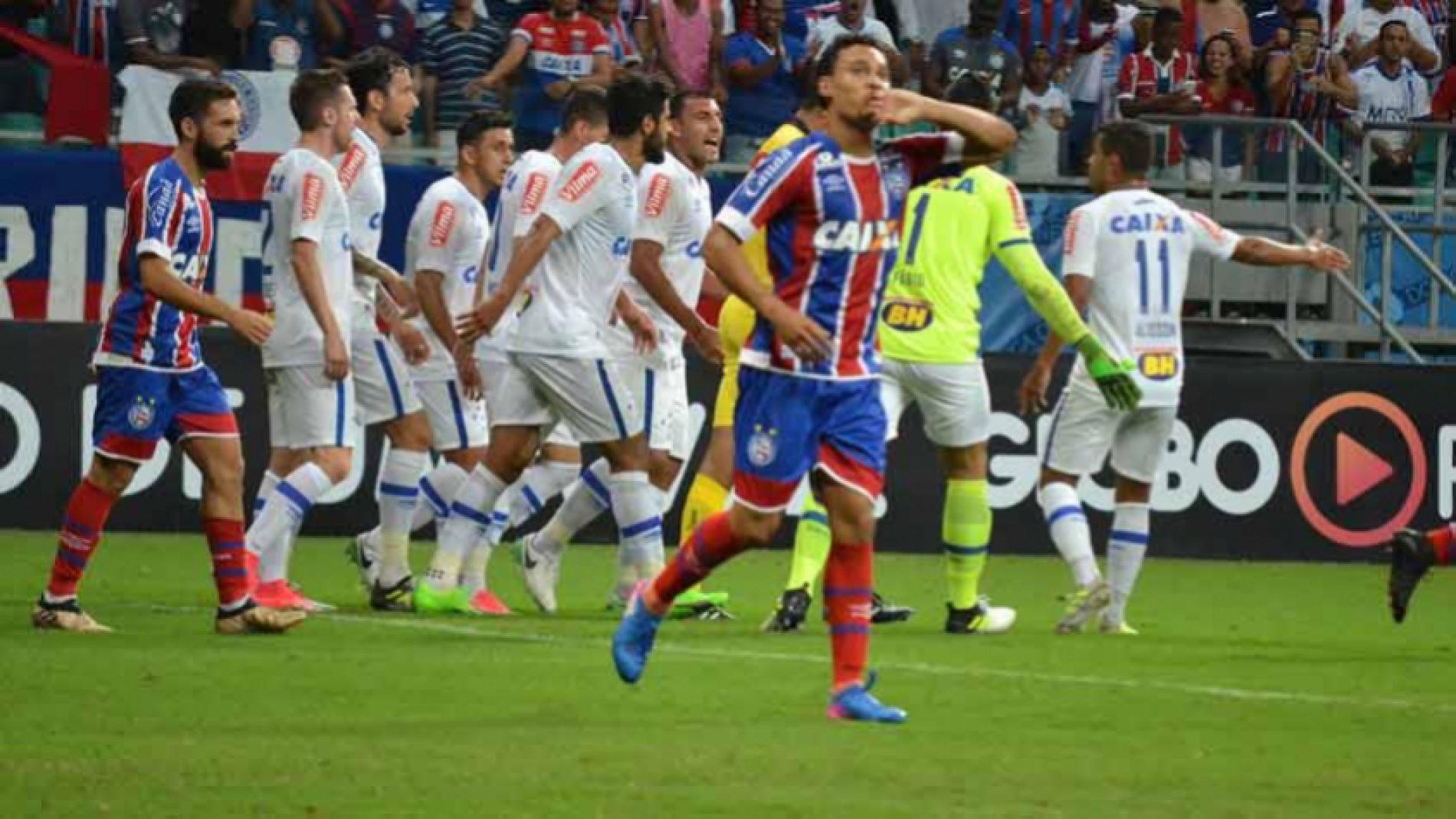 Bahia vence o Cruzeiro e mantém embalo em casa