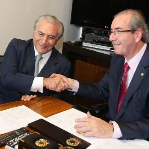 Eduardo Cunha vai depor na PF em processo contra Michel Temer