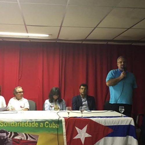 Galo representa ALBA na IV Convenção Baiana de Solidariedade a Cuba