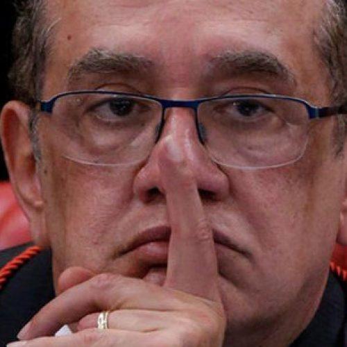 """Gilmar Mendes deseja a Janot, de saída da PGR, """"uma boa viagem"""""""