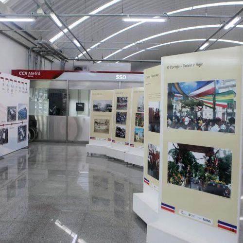 Independência da Bahia é retratada em Exposição na Estação Pirajá do Metrô