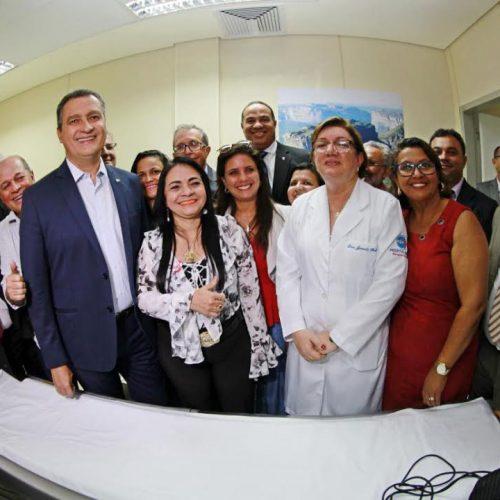Rui entrega novo Centro de Bioimagem do Hospital Menandro de Faria