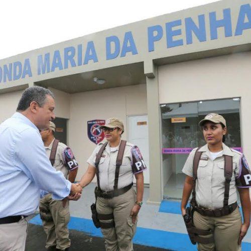 Rui entrega sede da Ronda Maria da Penha no município de Itabuna