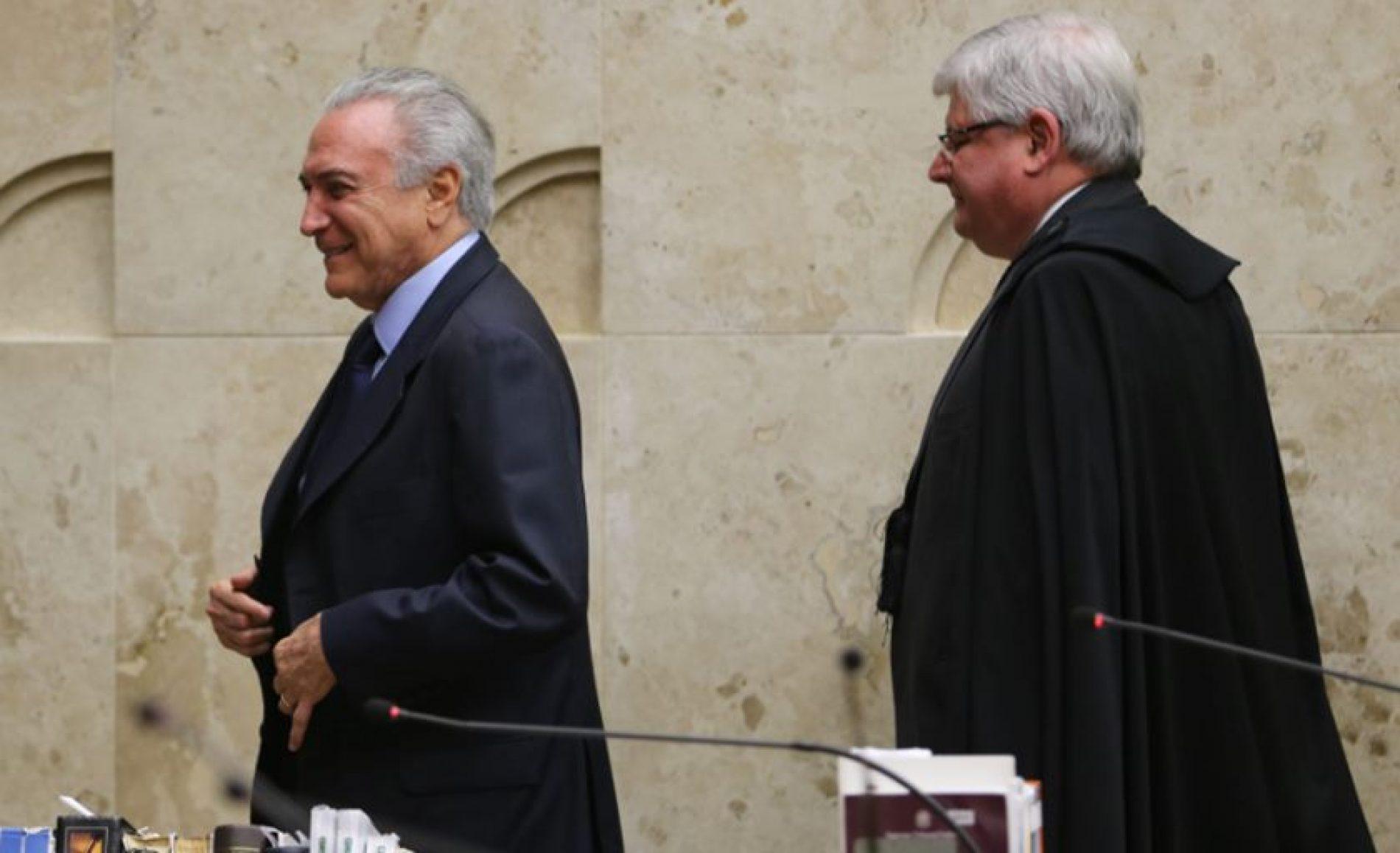 """Defesa de Temer diz que Janot age com """"nítido viés político"""""""