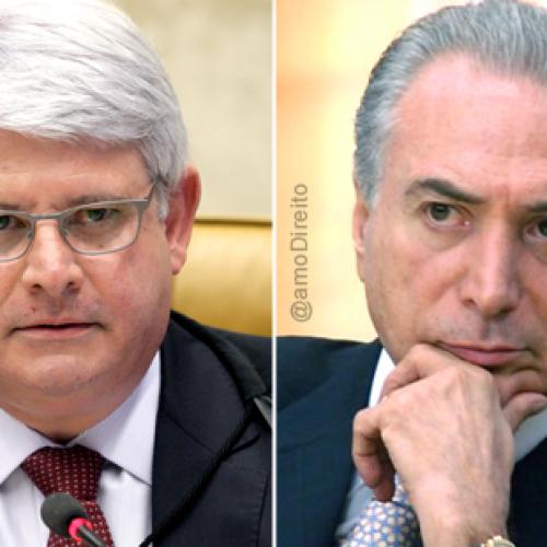 Janot pede ao STF inclusão de Temer no inquérito do 'quadrilhão' do PMDB